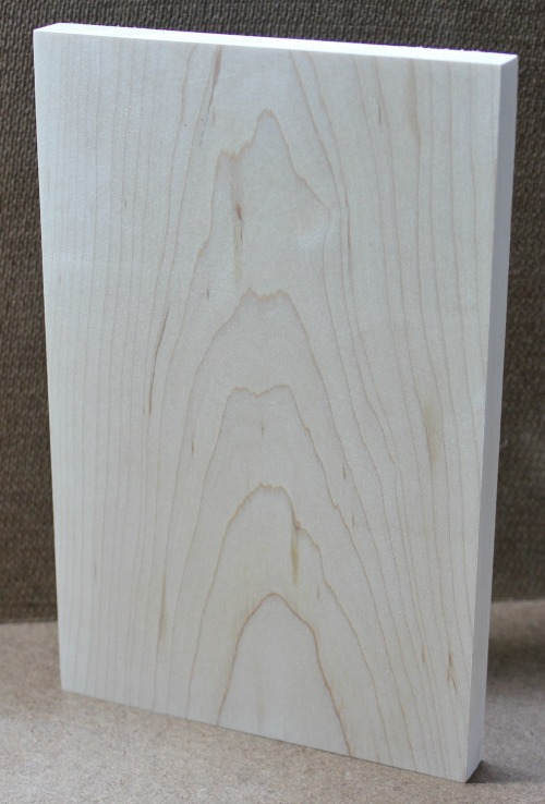 Piece of Maple - No stain or topcoat