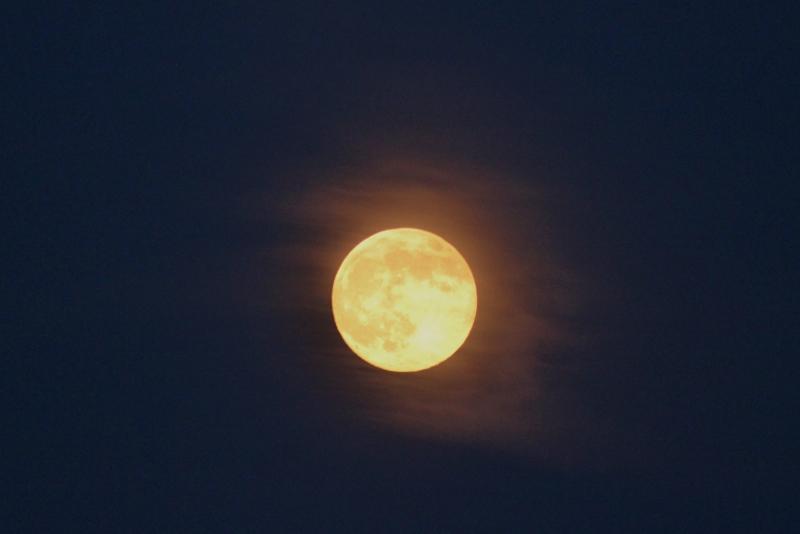 Full Moon over Buffalo NY