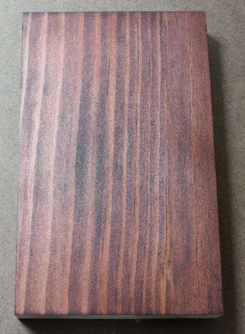 Pine Board Stained