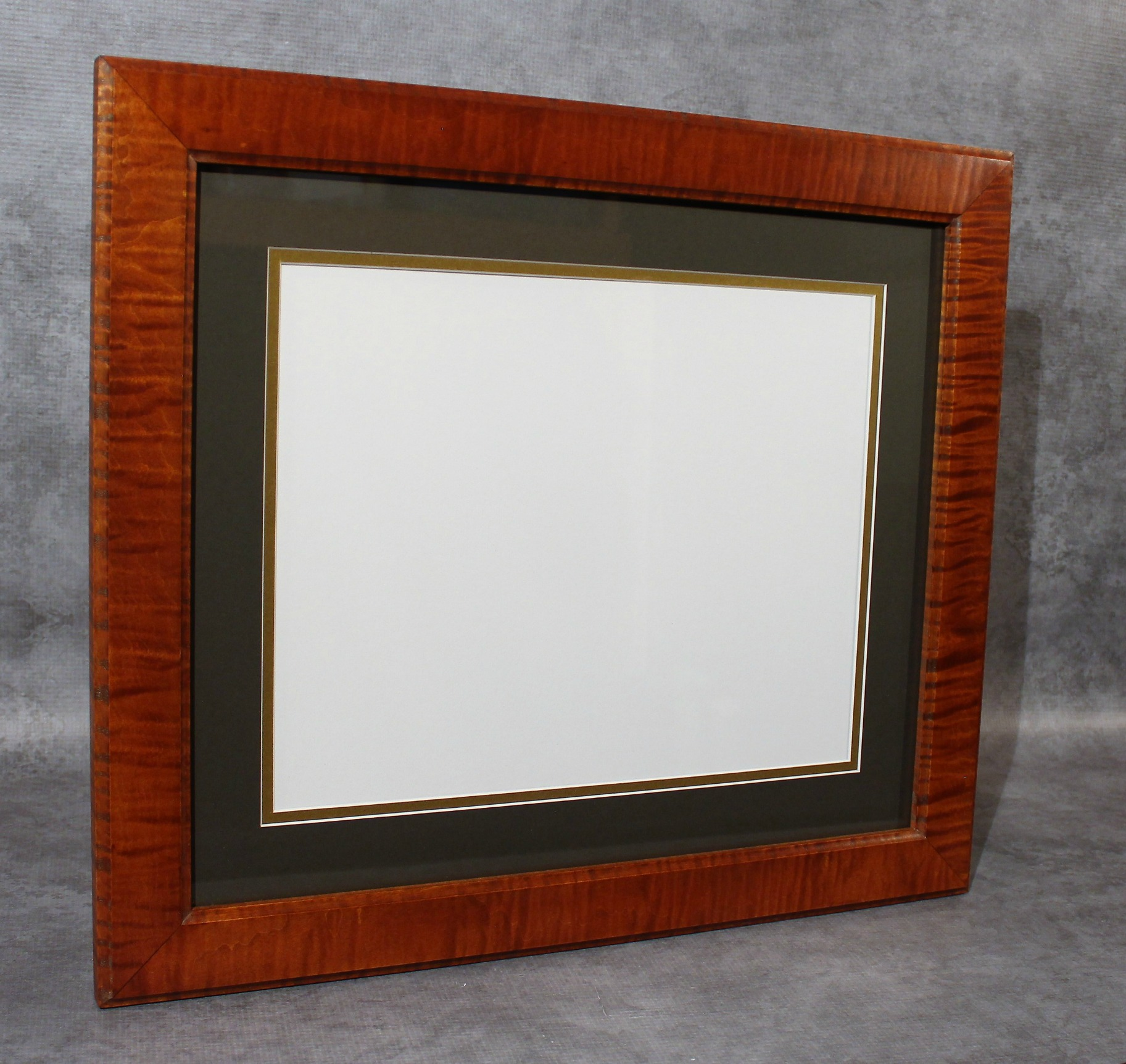 Tiger Maple Diploma Frame