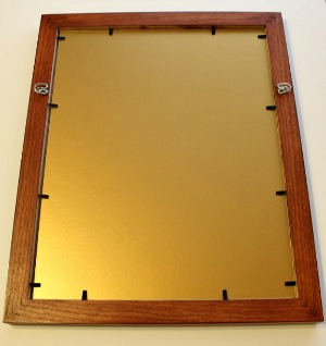 Mat Board Backing for Picture Frames