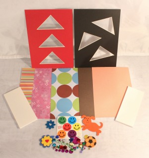 5 x 7 Mat Kit Contents