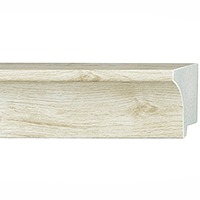 Picture Frame Molding White Washed