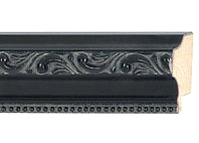 Picture Frame Molding Black