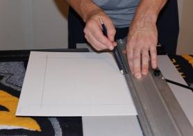 Measuring cut lines