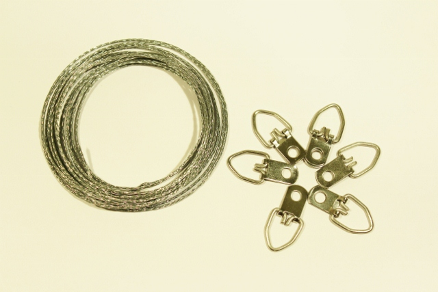 Picture Wire and D-rings
