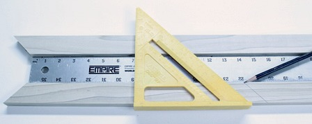 Measuring Picture Frame Molding with a Yardstick