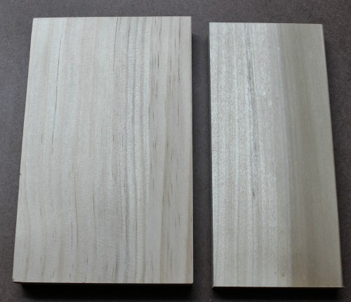 Pine and Poplar - Unstained