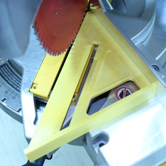 Miter Saw at 45 Degrees