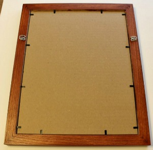 Cardboard Backing for Picture Frames